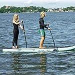JNWEIYU-Gonfiabile-Competizione-Professionale-Paddle-Pompe-unelica-Regolabile-Mobile-Unico-Kit-e-Zaini-Aletta-Pasta-di-Alluminio
