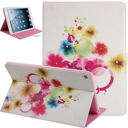 Amazon.com: Funda con tapa para iPad 6, funda con tapa para ...