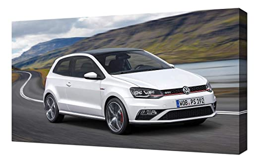 2015 - Volkswagen-Polo-GTI-V5-1080 - Lienzo Impreso - Arte de ...