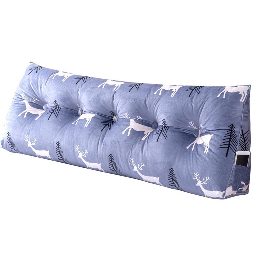 WENZHE クッションベッド 床用靠垫 ウェッジクッション 床靠背护 腰枕 ヘッドボード ソフトパッケージ ウエストガード ソファ 枕 ホーム ベッドルーム 大きい背 多機能 シンプル 現代、 7色、 7サイズ オプション ( 色 : 1# , サイズ さいず : 150×50×22cm ) B07CBQJ1D7 150×50×22cm 1# 1# 150×50×22cm