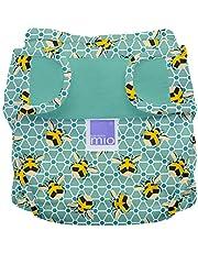 Bambino Mio, miosoft cobertor de pañal, abejas, talla 2 (9 kg+)