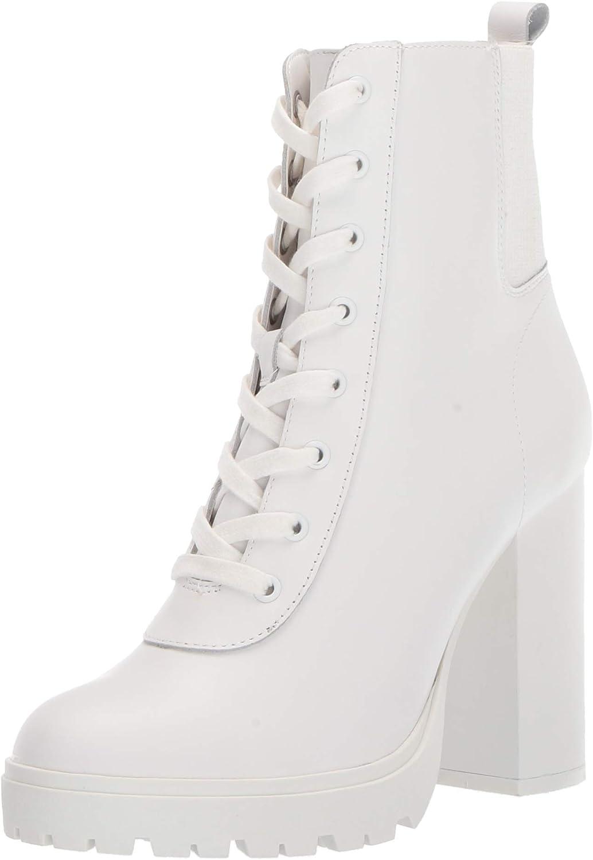 steve madden white platform boots