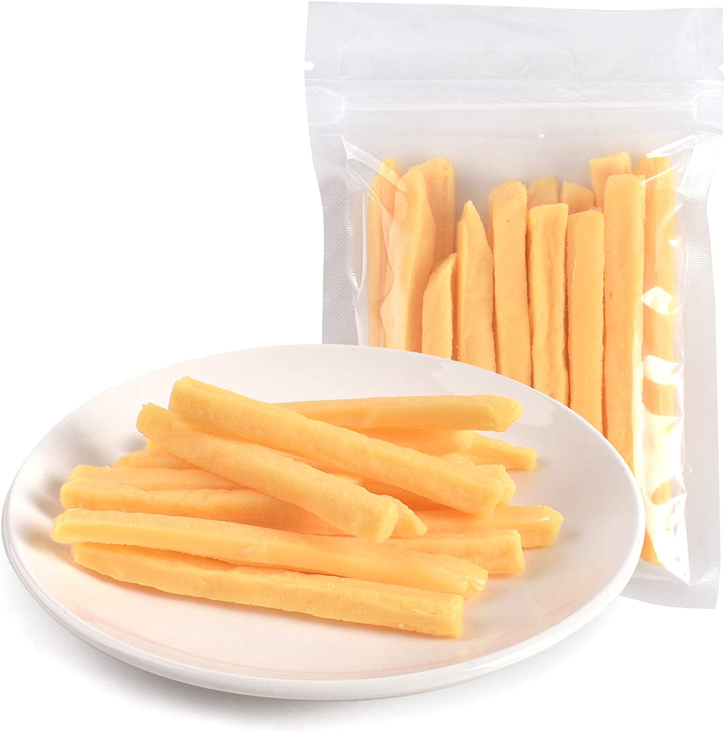 Hagao Fake French Fries Simulation Artificial Food Play Food Model Kitchen Toy Decoration 15 pcs