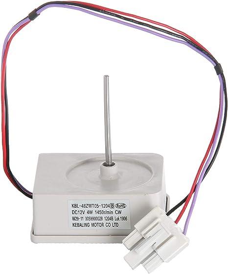 Masterpart Motor de ventilador para refrigerador y congelador para ...
