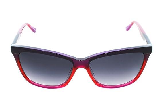 Amazon.com: Kensie anteojos de sol Meet Me There Berry 56 MM ...