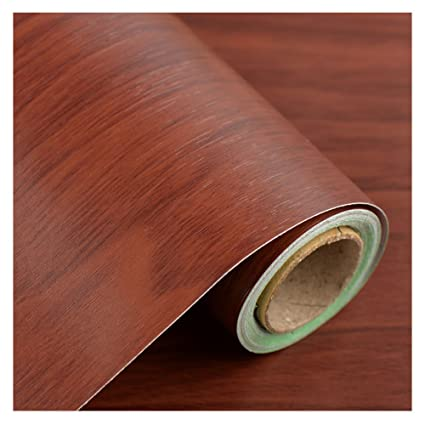 Wood Grain Contact Paper Film Countertops Vinyl Wallpaper Sticker Peel And  Stick Self Adhesive Wrap