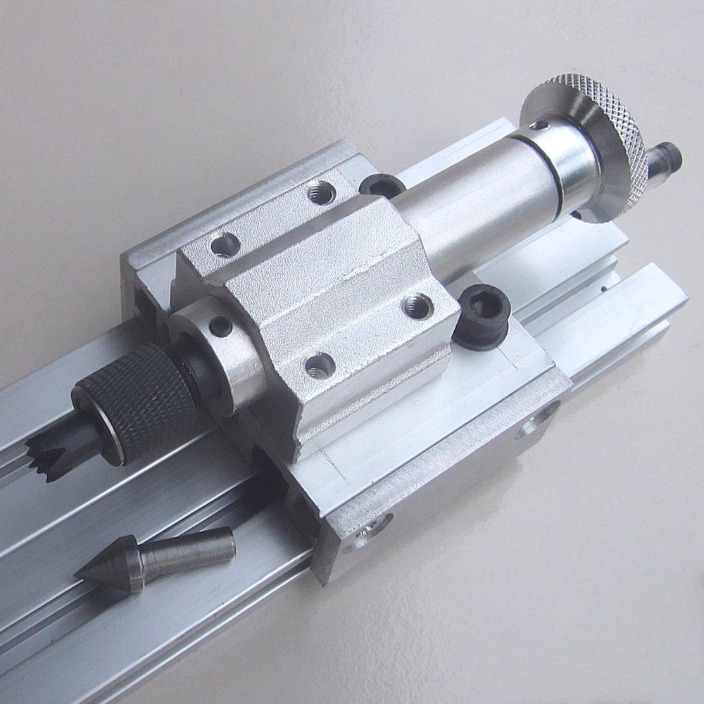 TTLIFE Mini Drehmaschine Perlen Poliermaschine CNC Bearbeitung f/ür Tabelle Holzbearbeitung Holz DIY Werkzeugdrehmaschine
