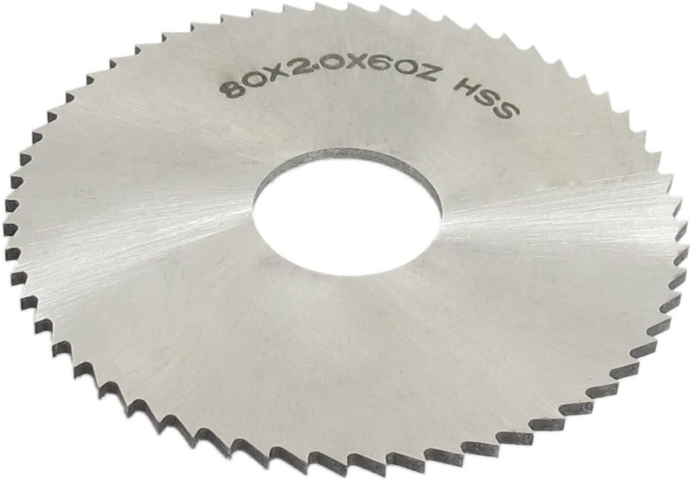 Scheibenfräser Metall- Kreissägeblatt  80 x 0,8  mm HSS 128 Zähne
