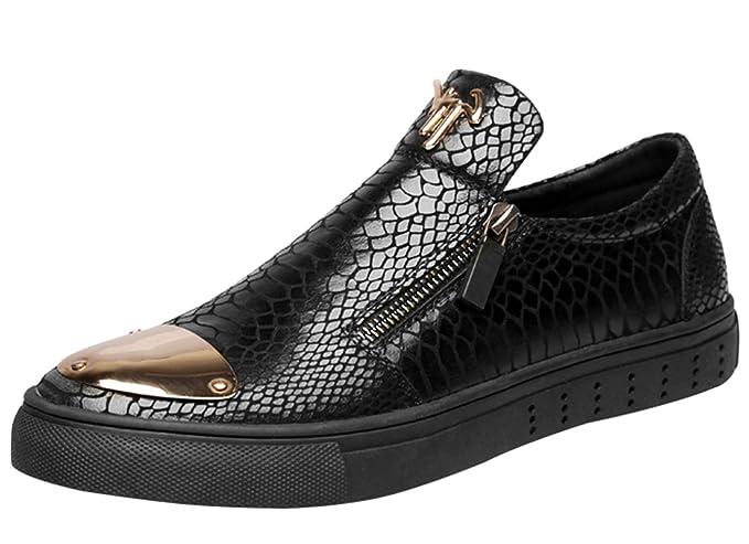RSHENG Mocasines Para Hombres Zapatos De Conducción Ocasionales Zapatos Perezosos De Moda: Amazon.es: Ropa y accesorios