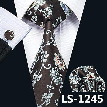 ZHAOSHUNAN Tie cravatta Diseño De Corbata De Seda Estampada para ...