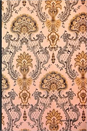 amazon brown classical damask design journal journal daily general