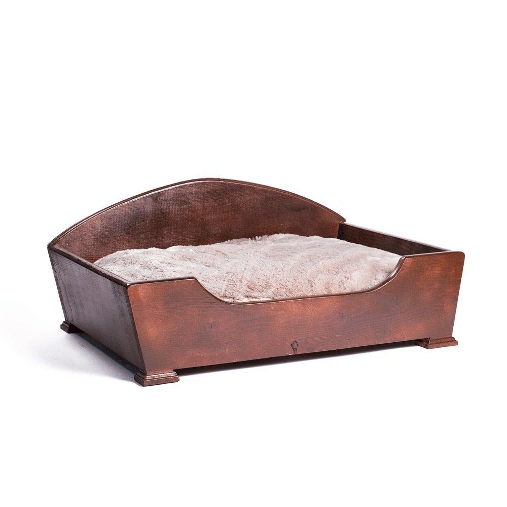 Keet Woodcourt Pet Bed, Khaki, Medium