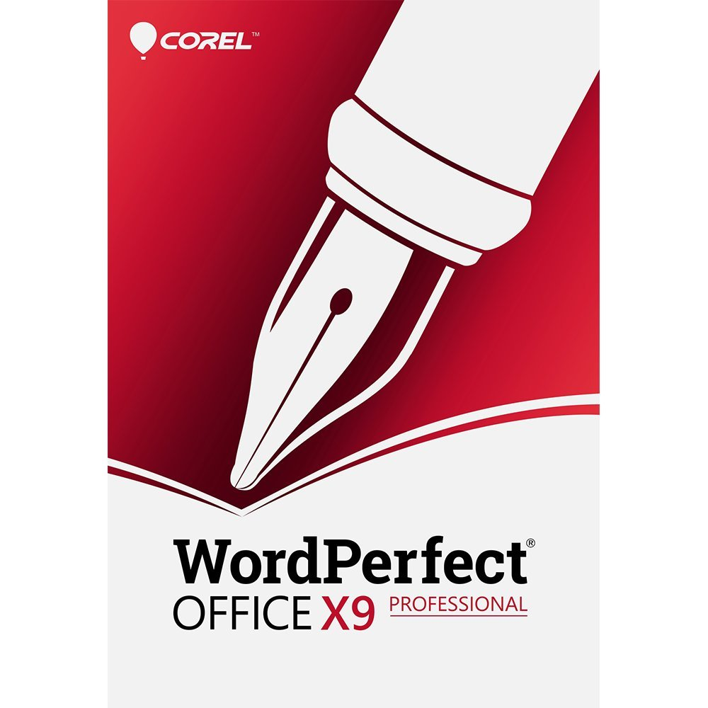 Corel WordPerfect Office X9 All-in-One Office Suite, Professional Edition - Upgrade [PC Download] by Corel