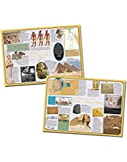 Wildgoose Education wg7713 antiguo Egipto Póster Set (Pack de 2)