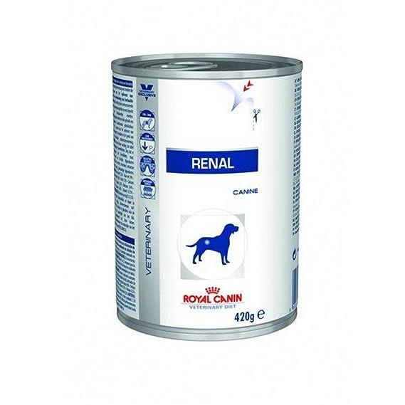 ROYAL CANIN Renal Umido Umido Cane Gr. 420 - Alimenti Umidi Dietetici Per Cani: Amazon.es: Productos para mascotas