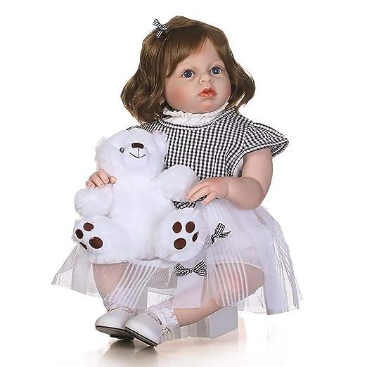 28 Pulgadas 70 cm Cuerpo de Tela Bebé Reborn Baby Dolls ...