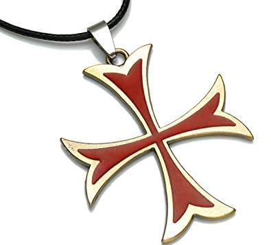 Assassins creed knights templar cross knight crusader design assassins creed knights templar cross knight crusader design jewellery pendant necklace chain accessories aloadofball Image collections