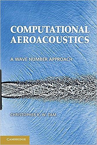 Computational Aeroacoustics: A Wave Number Approach (Cambridge Aerospace Series)