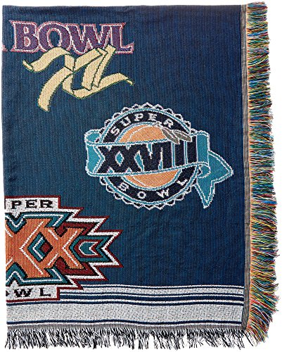 The Northwest Company Officially Licensed NFL Dallas Cowboys Commemorative Woven Tapestry Throw Blanket, 48