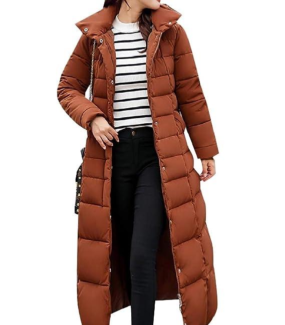 zapatos deportivos 4707f 59236 Andopa Equipada Maxi gruesa capa de la chaqueta del abrigo ...