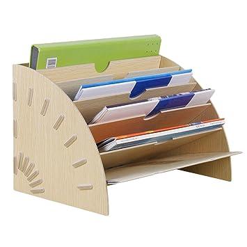 Liying Neu Ablagefacher Briefablage Papier Organizer 6 Facher