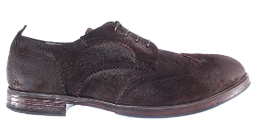 MOMA 68703 Chaussure Chamois R2 Hommes Vintage Marron Pelle g7fYvyb6