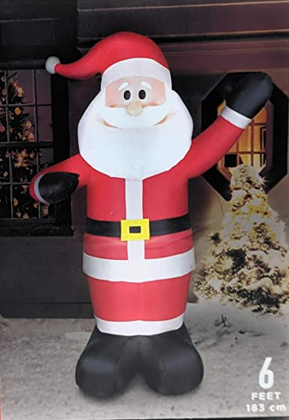 Walgreens Christmas Lights.Amazon Com Walgreens Let Is Snow 6 Foot Lighted Inflatable