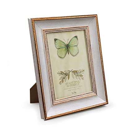0566bee6817 Amazon.com - Afuly Vintage Picture Frames 5x7 Photo Frames in ...