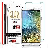 Samsung Galaxy J7(2015) Screen Protector, Balaji Clear Tempered Glass LCD Screen Protector Shield Guard Film For Samsung Galaxy J7(2015)