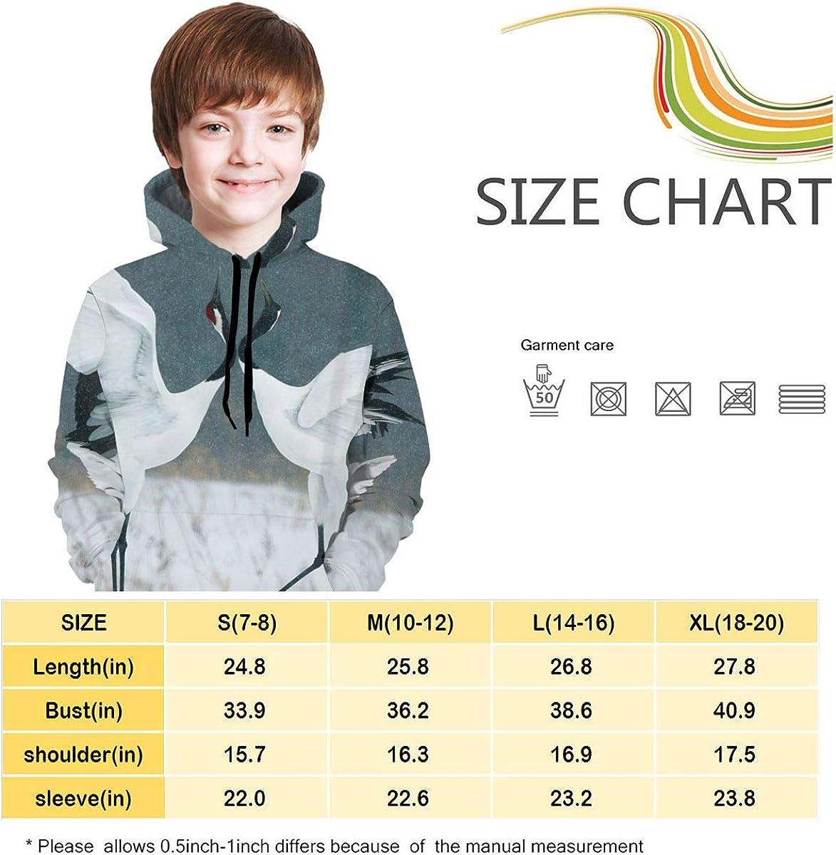 Lichenran Songhe 6 Unisex Pullover Teens Hoodie Hooded Sweatshirt Colorful