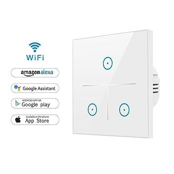 WLAN Alexa Lichtschalter, Smart Lichtschalter für Alexa und ...