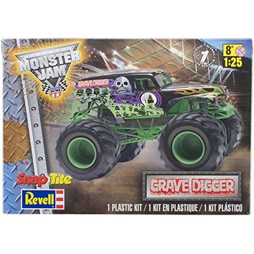 Revell SnapTite Max  Grave Digger Monster Truck Model Kit
