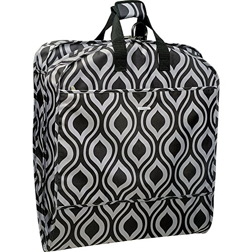 wallybags-52-inch-dress-length-carry-on-fashion-garment-bag-with-two-pockets