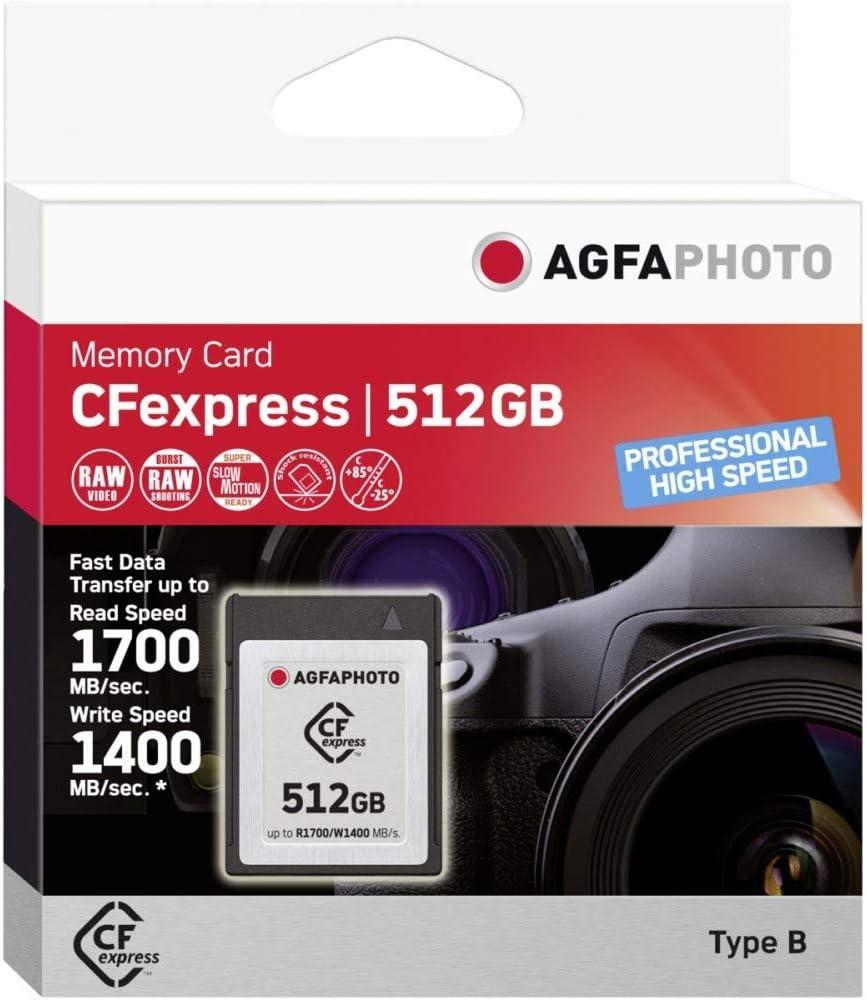 Agfaphoto Cfexpress 512gb Professional High Speed Marke Elektronik