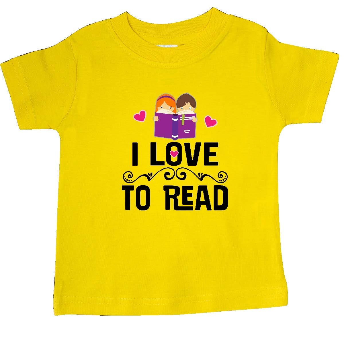 inktastic I Love to Read Baby T-Shirt