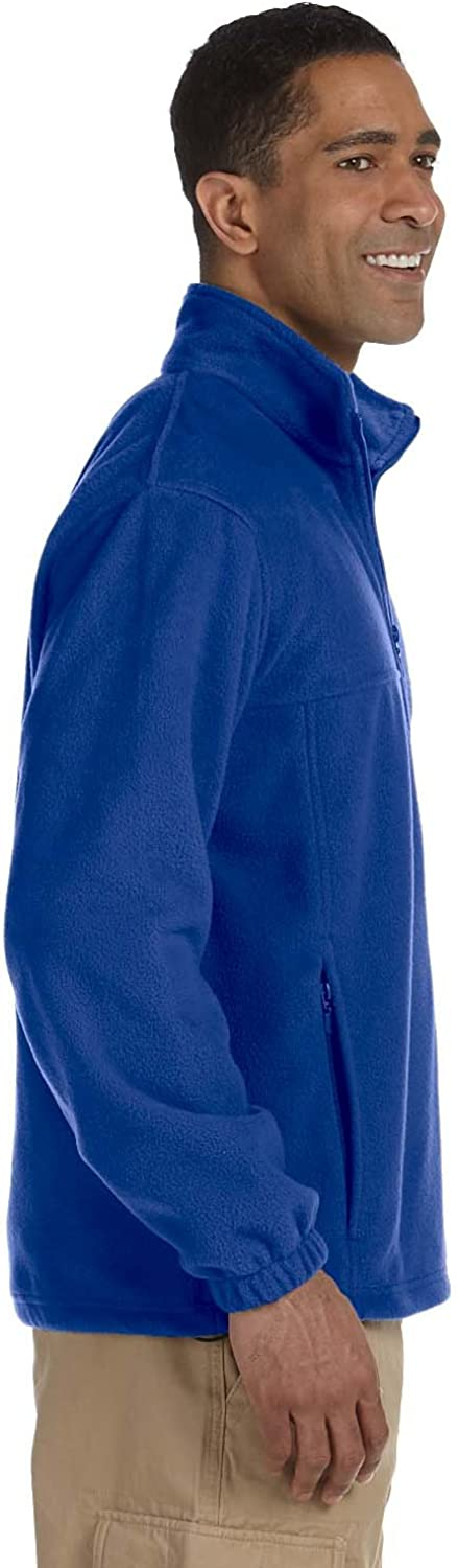 Harriton 8 oz M990 Full-Zip Fleece