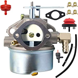 OH318SA Carburetor Kit for Tecumseh 640169 Carburetor Fits OHSK90 OHSK80 OHSK100 King Sears Craftsman Toro 38079 38542 38546 38547 38558 38559 38560 38650 38651 11.5HP SnowBlower 640169 Carburetor