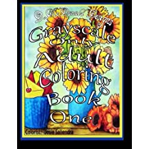 D.McDonald Designs Grayscale Only Adult Coloring Book One