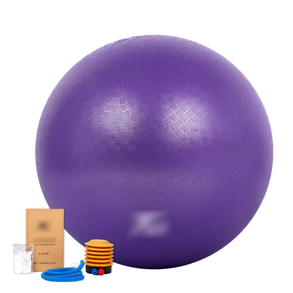 Sports Fitness Yoga Ball Fitness Ball Weight Loss Balance Ball Bouncy Ball Play Ball Pregnant Woman Delivery Midwifery Ball Thick Explosion-Proof (Load: 700kg) Exercise Ball Chairs