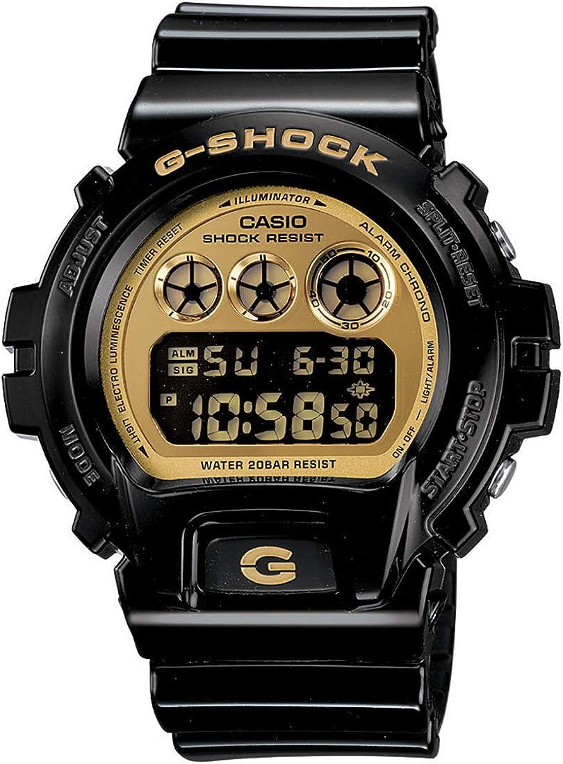 Casio G-Shock Chronograph Resin Strap Gold Mirror Dial Men's watch
