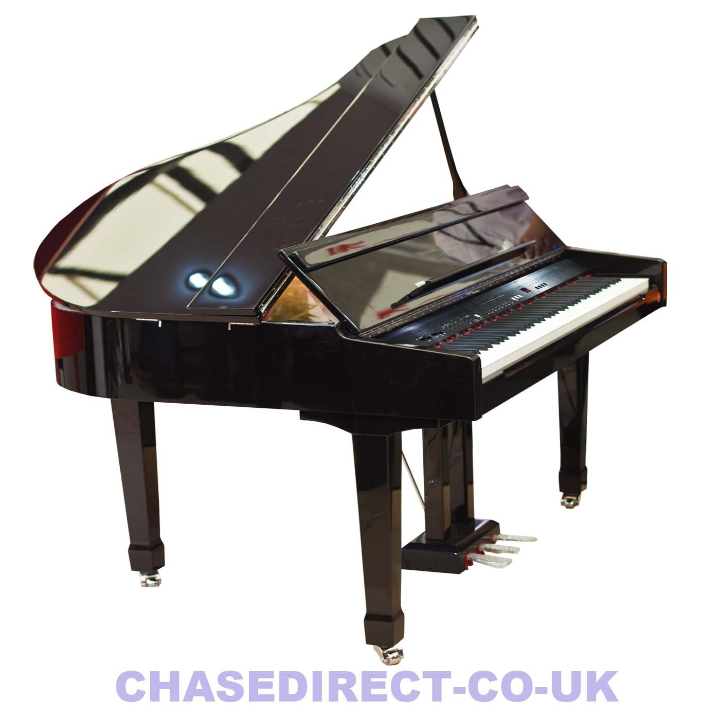 Chase cdp 723 digital grand piano in high gloss black polished chase cdp 723 digital grand piano in high gloss black polished ebony amazon musical instruments pooptronica