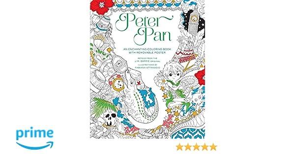 Peter Pan Coloring Book: Amazon.es: Fabiana Attanasio: Libros en ...