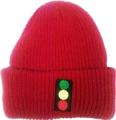 Team Zissou Red Beanie Stop Light Cap Hat  Apparel   Amazon.co.uk  Clothing c5613602396