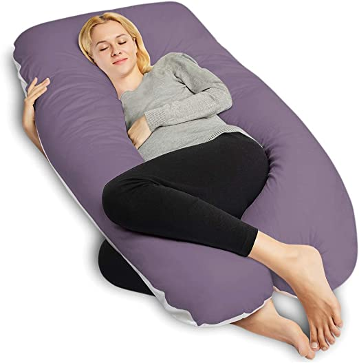 Hypoallergenic Maternity Pillow for Sleeping Full Body Pregnancy Pillow with Bamboo Cover Amazing Dreams Body Pillow