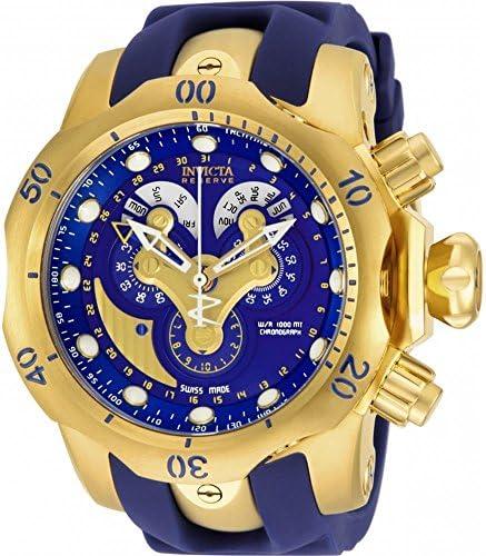 Invicta Men s 14465 Venom Analog Display Swiss Quartz Blue Watch