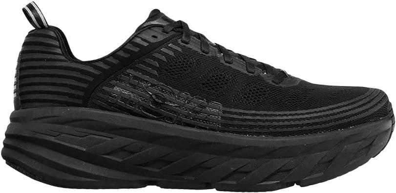 Hoka Bondi 6 - Zapatillas de running para hombre, color negro – 44: Amazon.es: Zapatos y complementos