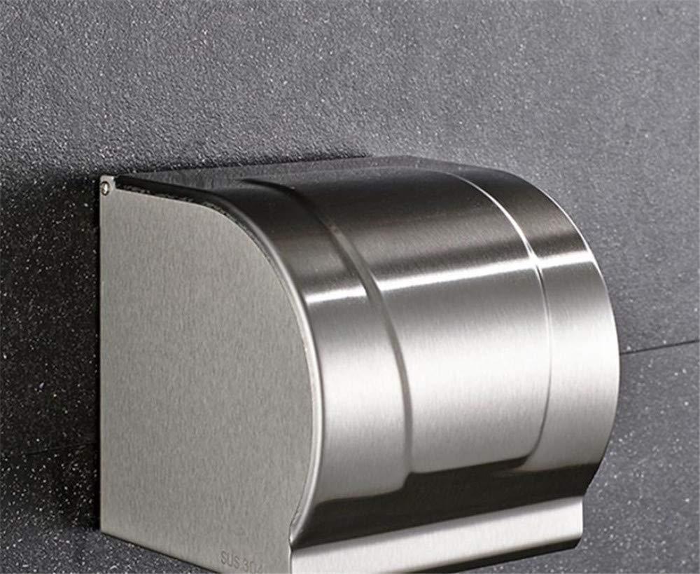 KIEYY Durable durable de acero inoxidable cepillado de baño toalla rack Portarrollos de papel higiénico titular de baño Accesorios proyecto hotelero: ...
