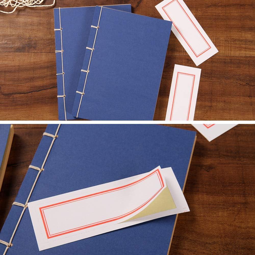 Quaderni A5 Articoli Di Cancelleria Quaderno Personale Quaderno 4 Colore Vintage Quaderno Di Kungfu MAXGOODS 4 Pezzi Taccuino Di Carta Copertina per Arti Marziali Cinesi