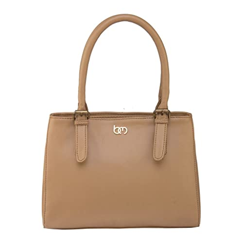 bf479b6106 Bagsy Malone Women s Messenger Bag with No (Beige)  Amazon.in  Shoes ...