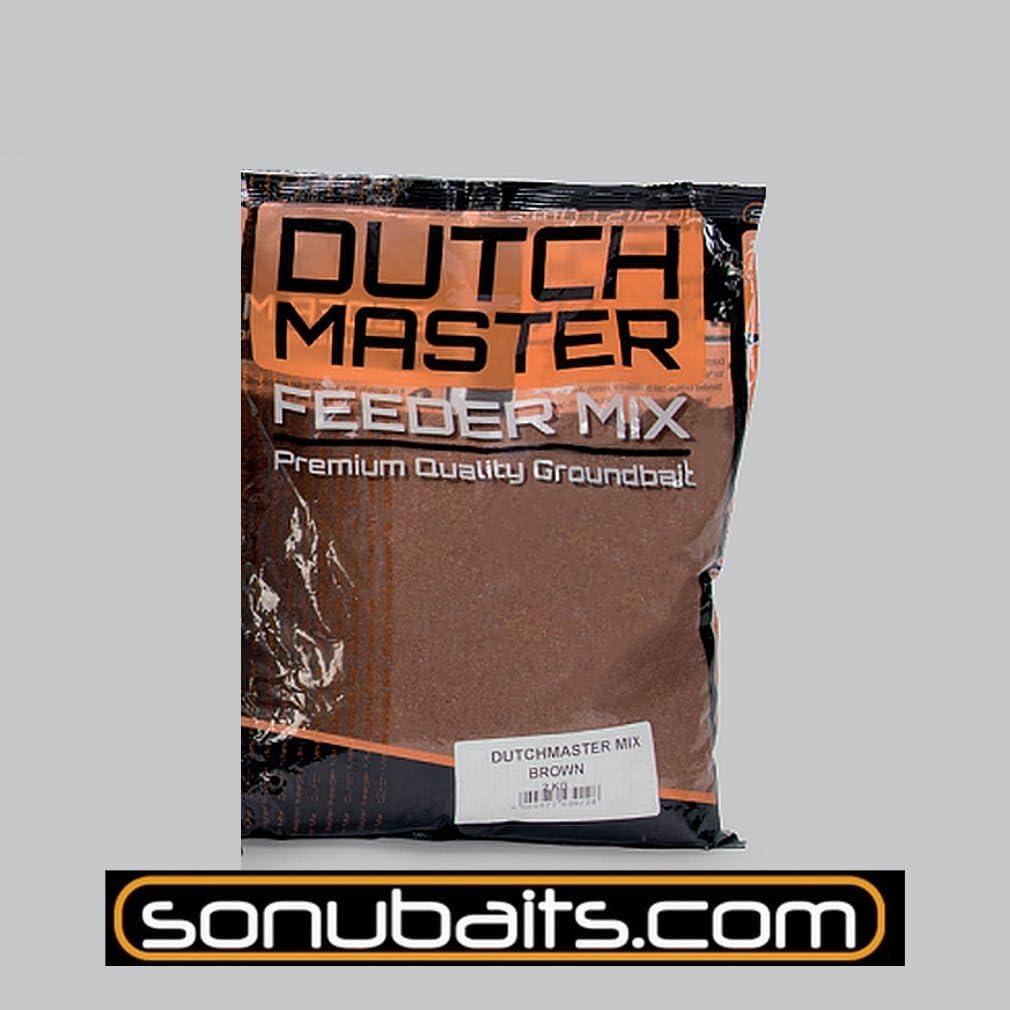 Sonubaits 2kg Dutch Master Feeder Braun Futter f/ür Rotaugen Brassen